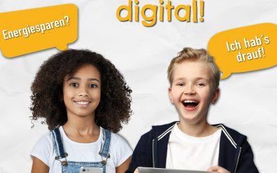 e-Detektive: Lerne Energiesparen – digital!